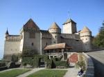 Geneva, Switzerland: just outside of Geneva, on Lake Geneva, sits this romantic castle that has anything but a romantic history