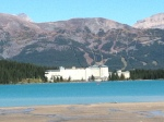 Chateau Lake Louise, Banff, Alberta, Canada: Just as beautiful in the summer