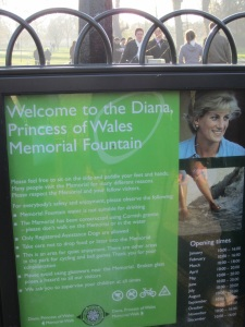 Diana, Princess of Wales, Memorial Fountain