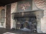 Chillon Castle fireplace