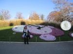 Flower clock in Geneva
