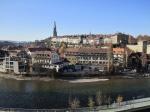 View from the Bern Bear den, Bern Switzerland