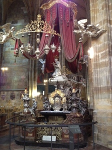 St. John of Nepomuk Chapel in St. Vitus Cathedral