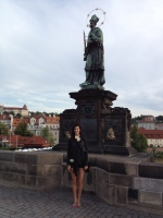 Statue of St. John of Nepomuk, Charles Bridge, Prague