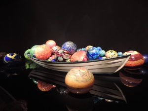 """From the Chihuly """"Boats"""" collection"""