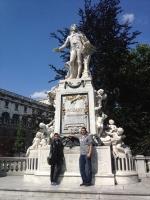 Mozart's birthplace, Vienna, Austria