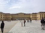 Front of the Schonbrunn Castle, Vienna