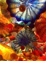 "From the Chihuly ""Persian Ceiling"" collection"