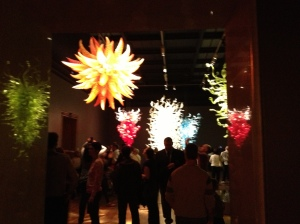 """From the Chihuly """"Chandeliers and Towers"""" collection"""