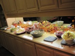 Thanksgiving spread, Regina, SK