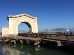 Old Pier in San Francisco Bay
