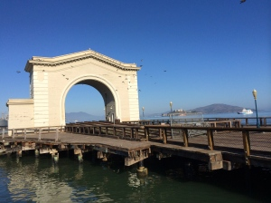 Old Pier in San Francisco Bay