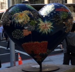 Heart sculpture, San Francisco