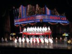 Rockettes at Radio City Music Hall at the Christmas Spectacular, NYC