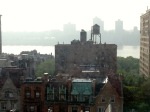 Late afternoon over the Hudson River, NYC