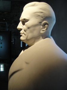 Bust of Tito, reigning President for 60 years, Ljubljana Castle
