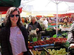 Fresh food market, Ljubljana