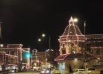 Christmas lights light up The Plaza in Kansas City
