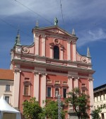 One of Slovenia's oldest churches, Ljubljana
