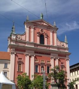 One of Slovenia's oldest churches, Ljubljana