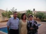 Abu Jawad, my daughter Allison, Mrs. Taghreed