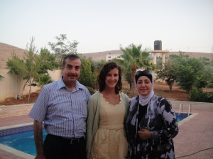Abu Jawad, my daughter Allison, Mrs. Taghreed