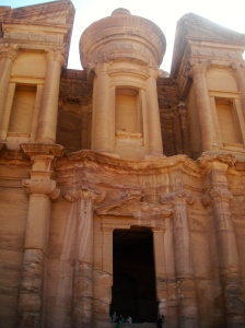The Monastery, high up in the hills of Petra