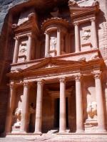 The Treasury, in the hidden city of Petra, Jordan