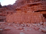 The ruins of the house T.E. Lawrence lived in while stationed in Wadi Rum