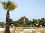 Water slides at the water park at the Atlantis Resort - Dubai