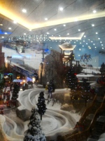 Ski Dubai in The Dubai Mall