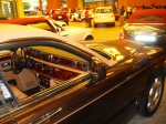A brand new Royals Royce left sitting with the windows open in the Valet Parking lane of The Dubai Mall