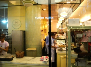 The Magnolia Bakery in The Dubai Mall, based out of NYC
