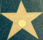 Marilyn Monroe's star on the Hollywood Walk of Fame, Hollywood Blvd, Beverly Hills, CA
