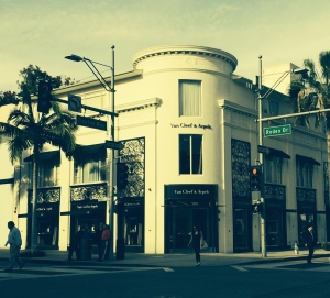 Van Cleef and Arpels and Rodeo Drive, Beverly Hills, CA - they go together like peanut butter and jelly