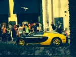 Bijou - apparently being tailor to US Presidents pays well, as showcased by Mr. Bijou's matching Bugatti which he parks in front of his store everyday