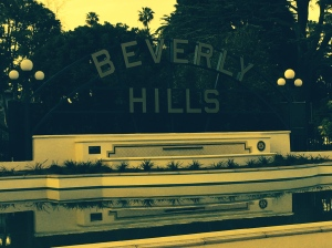 Beverly Hills, CA - home to the stars and the wealthy moguls of many of the world's industries