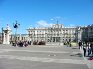 The Royal Palace, Madrid, Spain