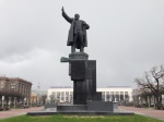 Lenin statue in Lenin Square in front of Finland Station