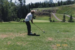 Getting our son into the game of golf at an early age