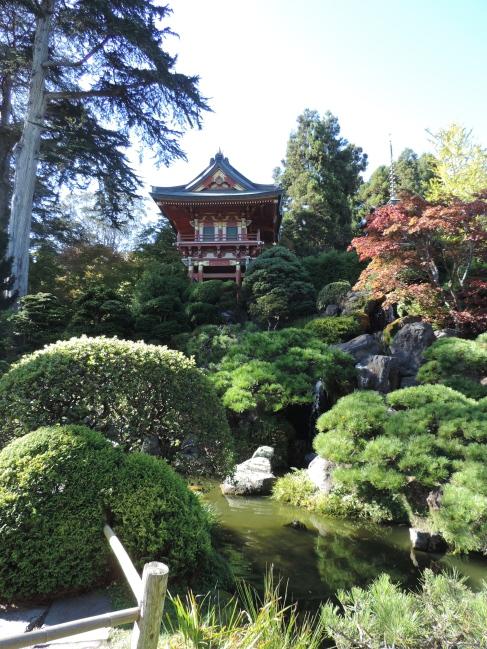Japanese Garden at the San Francisco Botanical Garden in Golden Gate Park