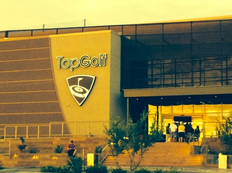 Top Golf Riverwalk, Scottsdale, Arizona.