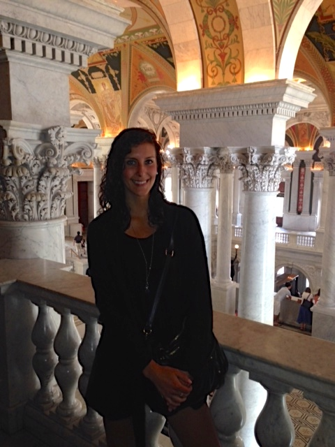The architecture in the Library of Congress is as beautiful as the books it houses