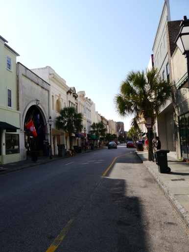 King Street in Charleston - great shopping, eating and drinks.