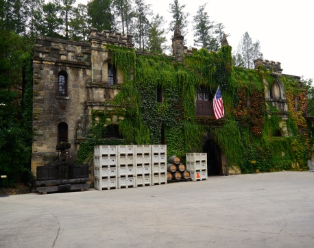 Our first winery - Chateau Montelena. Looks like it has been there for four centuries not four decades.