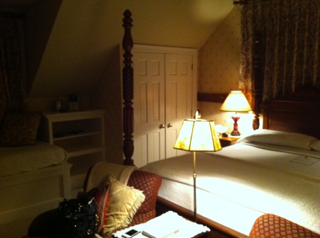 Our room at the Windham Hill Inn, Vermont