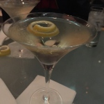St. Germain Martini at AZ88