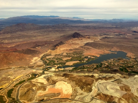 Lake Mead just east of Las Vegas