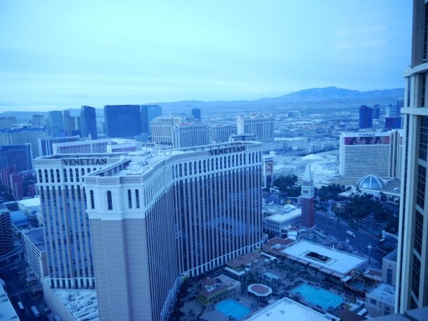 Las Vegas - an oasis of vibrancy in an otherwise lackluster landscape