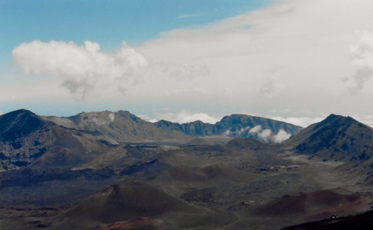 The view from Haleakula was truly breath taking